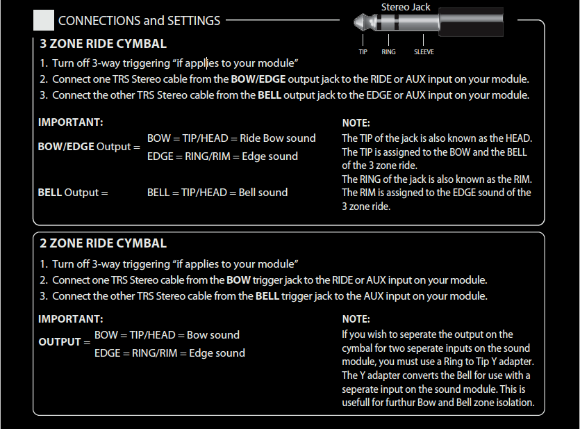FIELD Connections and Settings 1
